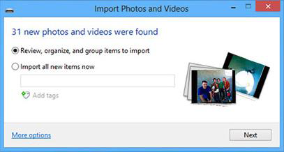 Import Photos from iPhone to Windows 8 Computer