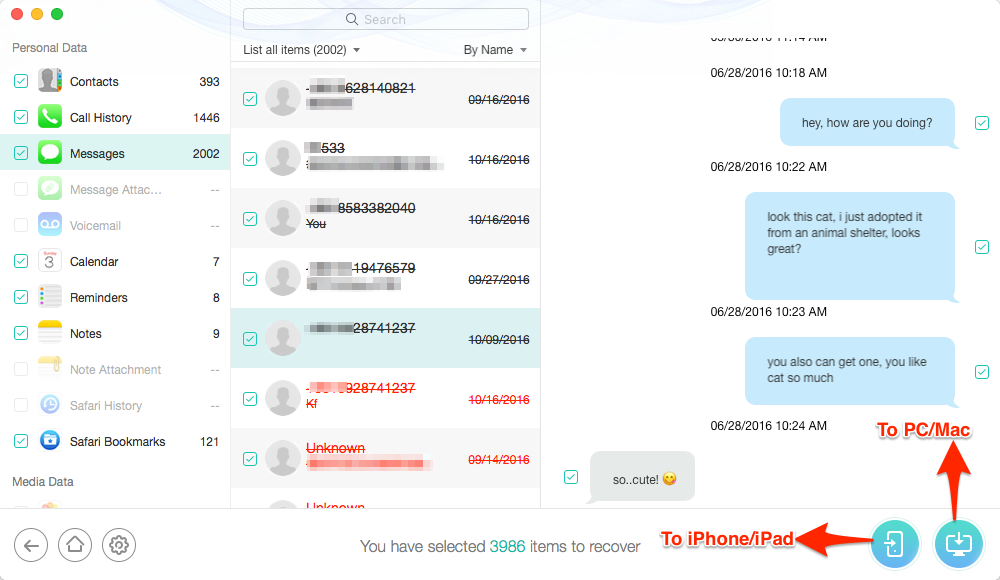 iCloud Backup Extractor PhoneRescue Overview