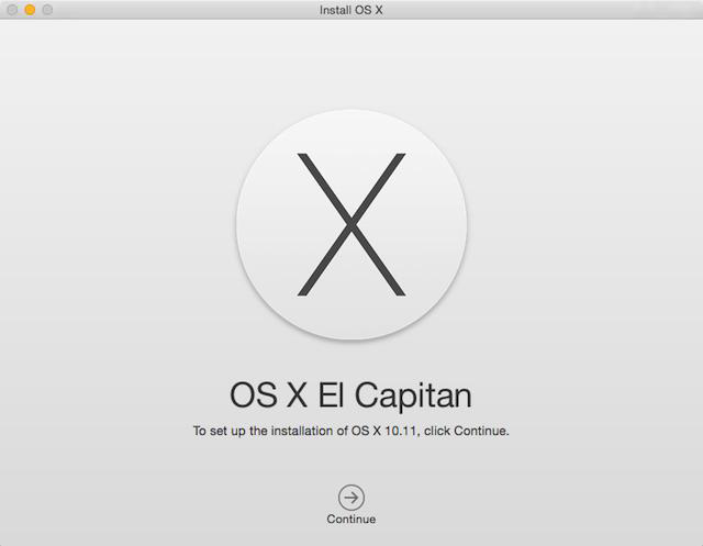 Download and Install El Capitan on Your Mac