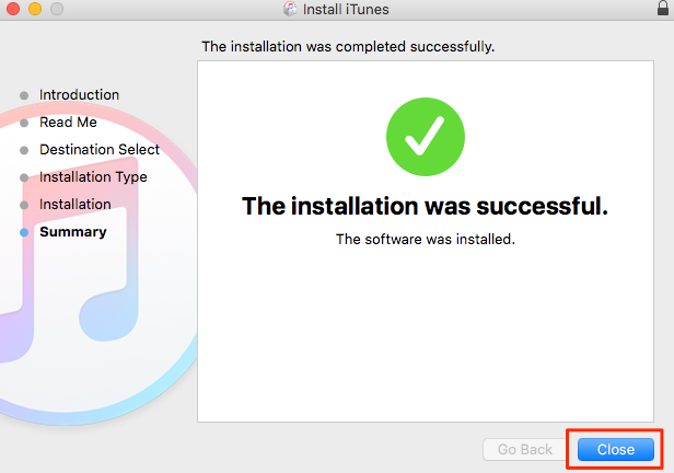 How to Install iTunes 12.6.3 – Step 3