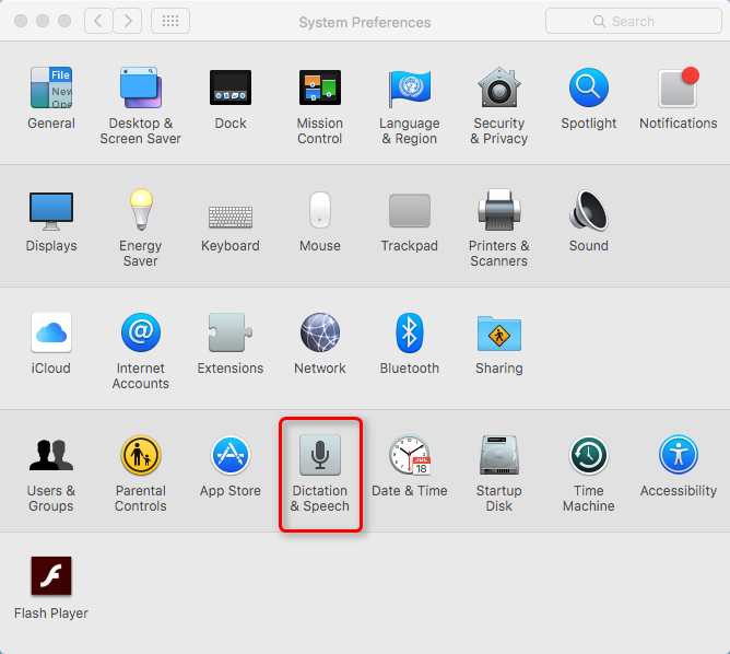 How to Make Siri Say What You Type on Mac - Step 1