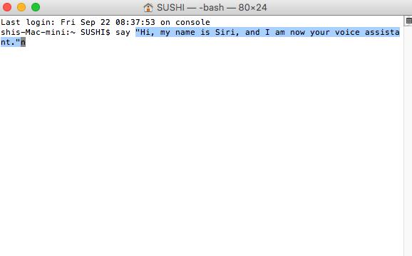 How to Make Siri Say What You Type on Mac - Step 3