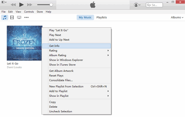 How to Make a Text Tone for iPhone via iTunes - Step 2