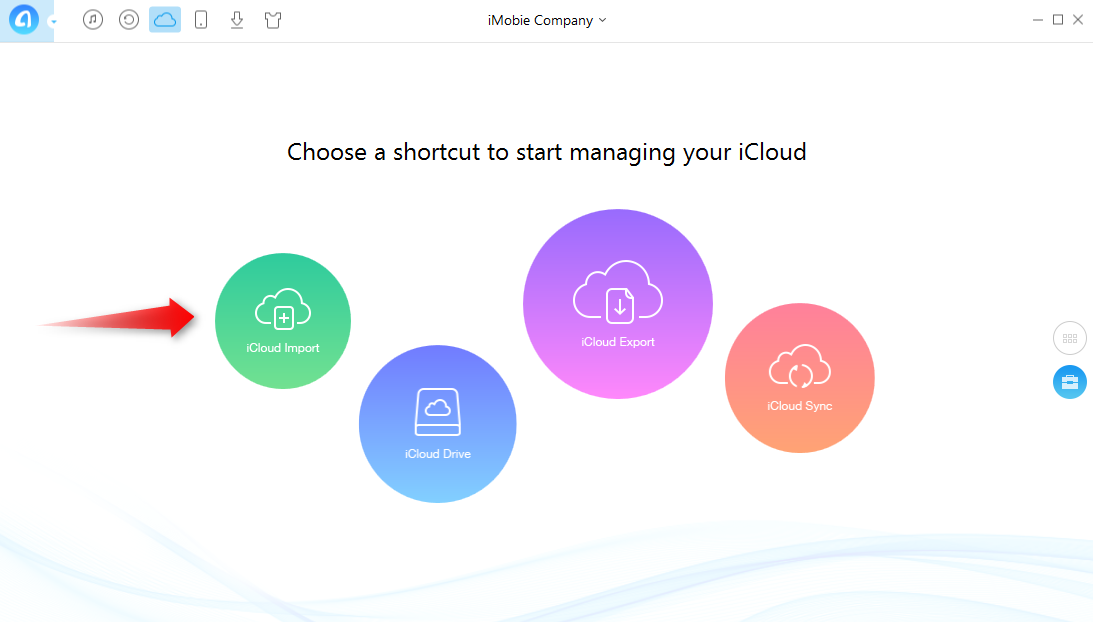 Import Contacts from Computer to iCloud
