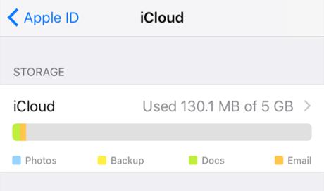 Manage iCloud Storage - Access iCloud Storage on iPhone