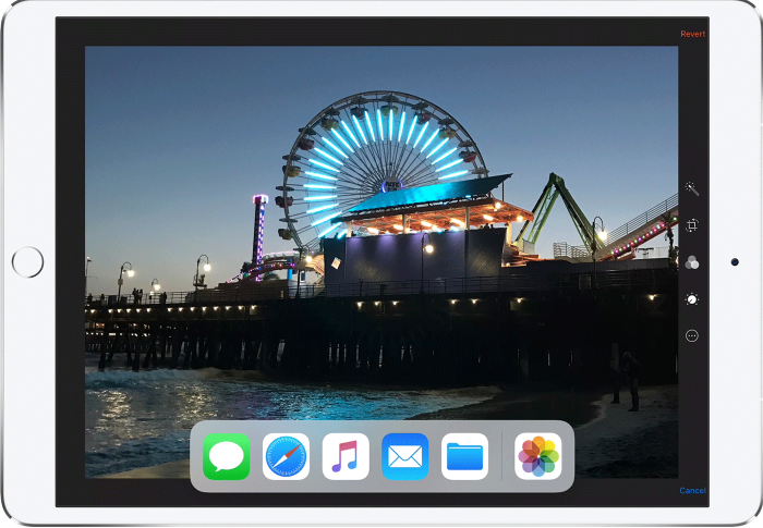 How to Use New Dock to Switch Between Apps – Screen Overview