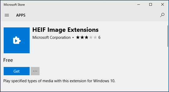 How to Open a HEIC File on Computer via HEIC Image Extensions– Step 2