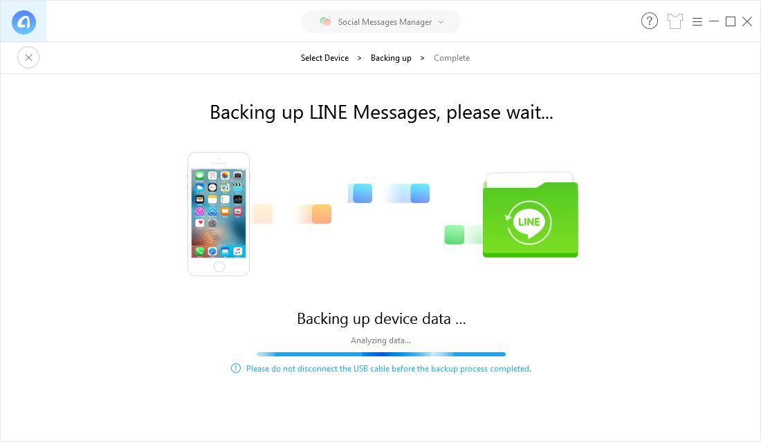 Backing up Process
