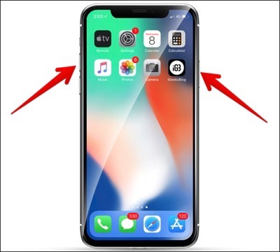 How to Power off iPhone XS/XS Max
