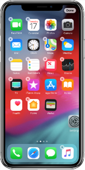 How to Rearrange Apps/Icons on iPhone via Method 1