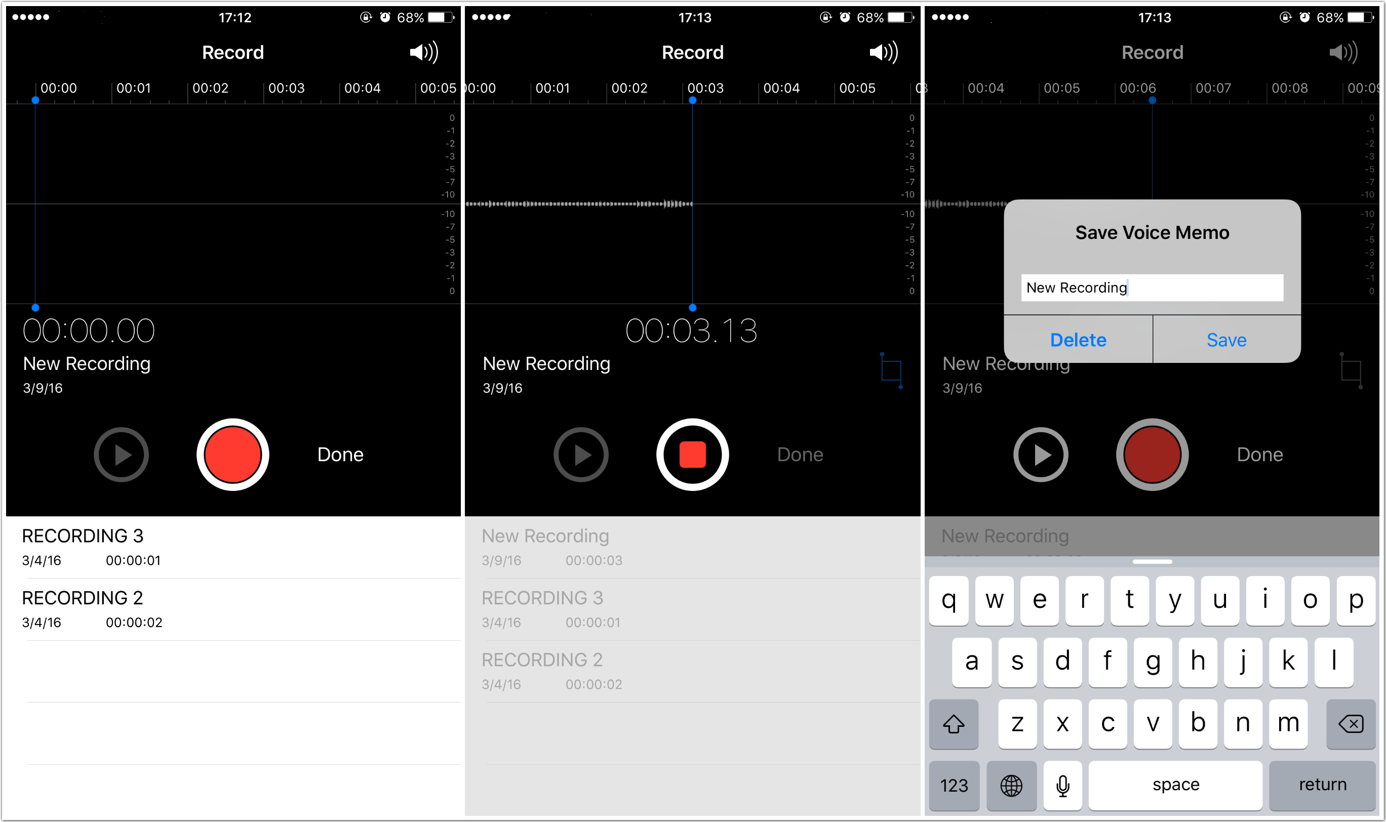 How to Record a Voice Memo on iPhone 6s