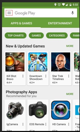 Find App Uninstall History via Play Store