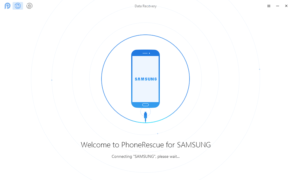 Recover Contacts from Samsung Galaxy S4/S5/S6 – Step 1