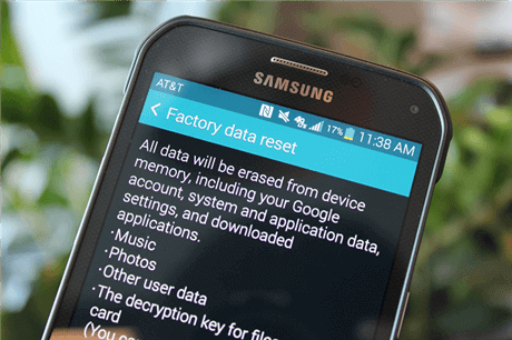 What is Android Factory Reset