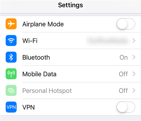 Connect to a WiFi network