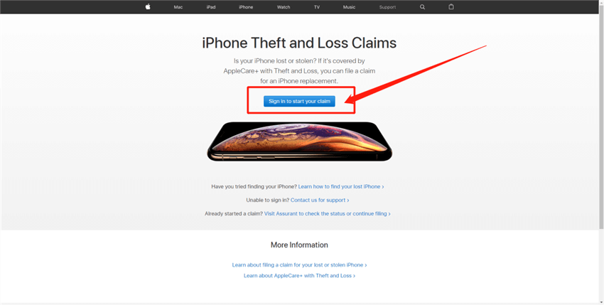 How to Report A Stolen iPhone to AppleCare