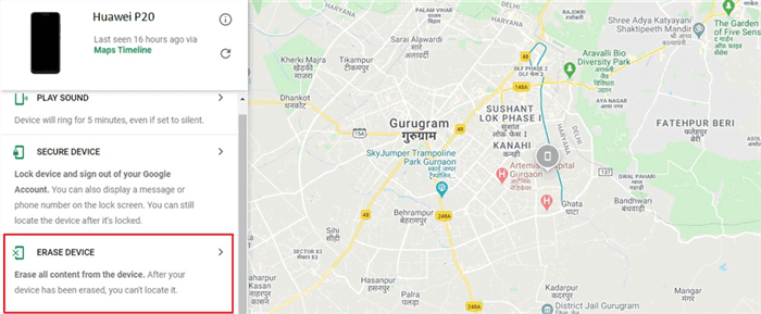 How to Reset Huawei Phones via Android Device Manager