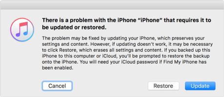 How to Reset/Erase iPhone without iCloud Password via iTunes