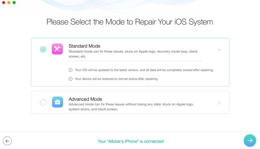 How to Reset/Erase iPhone without iCloud Password – Step 2