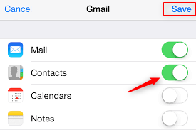 How to Restore iPhone XS/XR Contacts from Gmail – Step 2