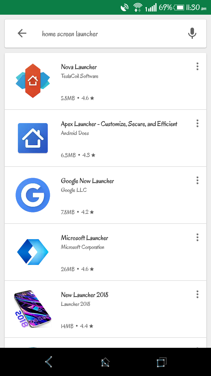"Fix ""Android App Icons Not Showing"" Issue by Downloading a New Launcher"