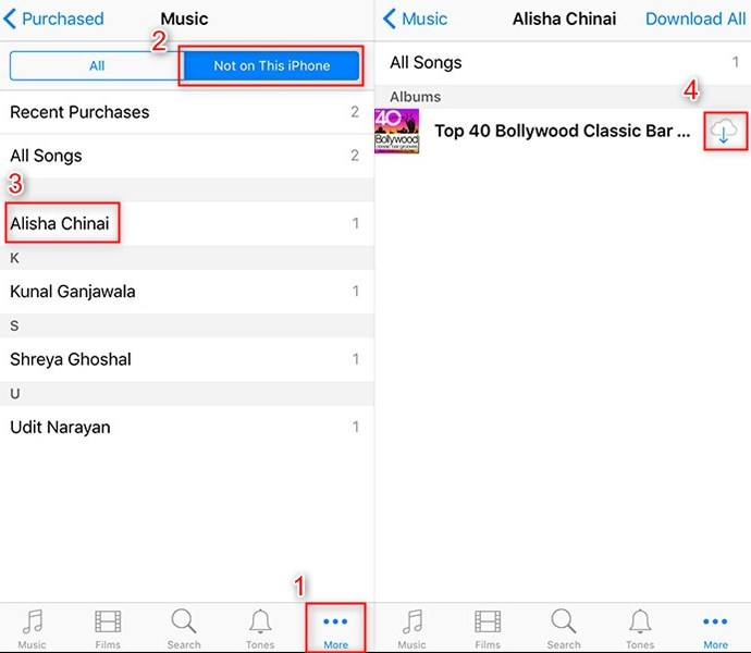 How to Restore Purchases on iTunes - Music