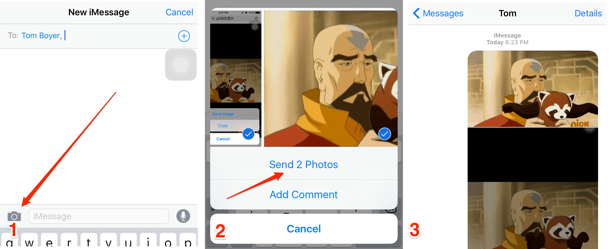 How to Play GIF Files on iPhone 6/6s