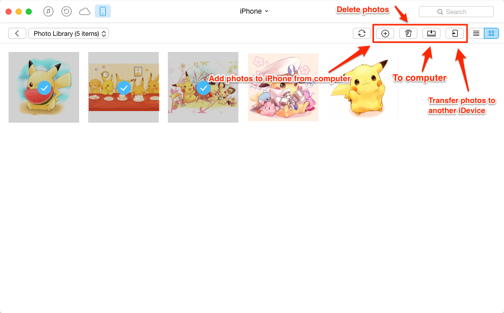 Manage iPhone/iPad Photos with AnyTrans
