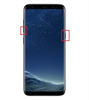 How to Screenshot on Samsung Galaxy S8/S9 - The Traditional Way