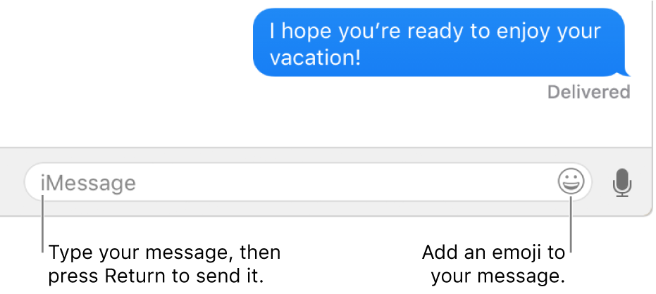 Sending Text Messages from Mac - Step 7