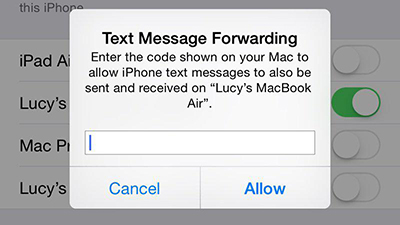 How to Send & Receive Text Messages on Mac – Step 3