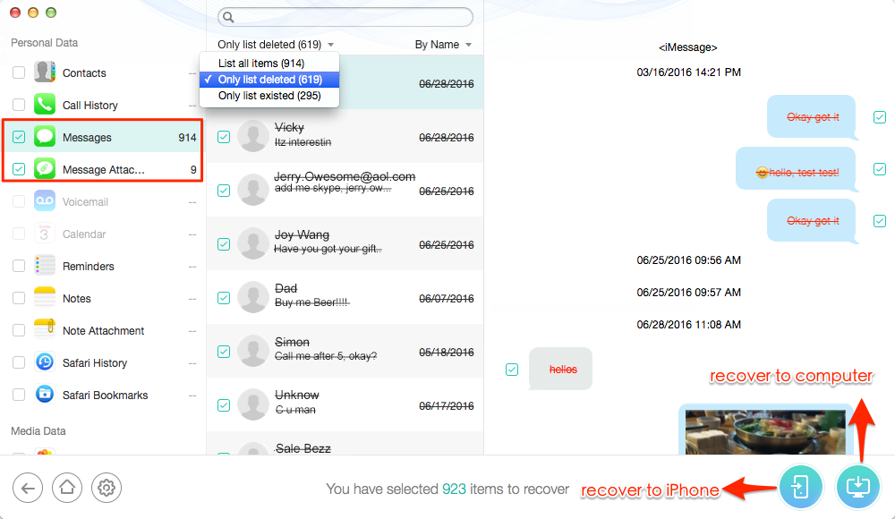How to Recover Deleted Messages