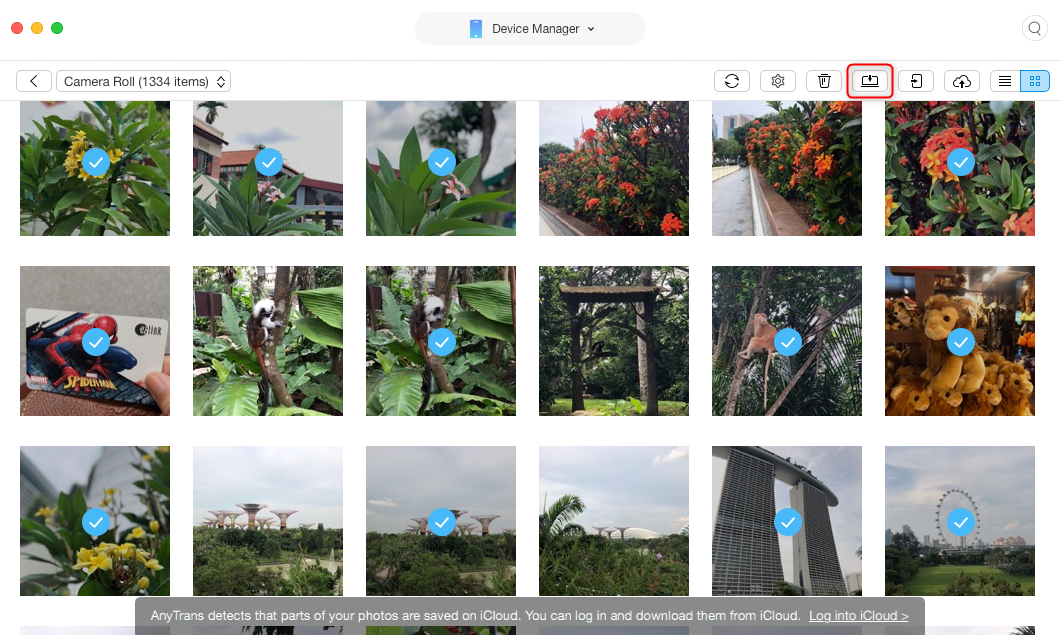 How to Send Photos from iPhone to Mac in An Easier Way – Step 3