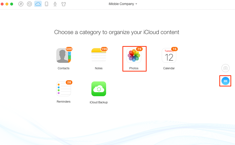 How to Add Photos to iCloud – Step 2