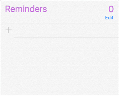 How to Set Reminders on iPhone – Step 2