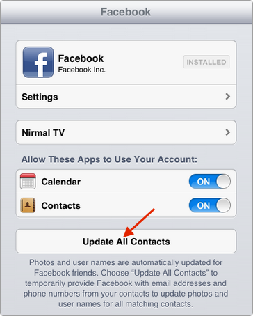 Updating Your Contacts – Step 6