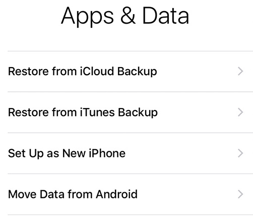 Set Up New iPhone – Restore or Transfer Data to New iDevice