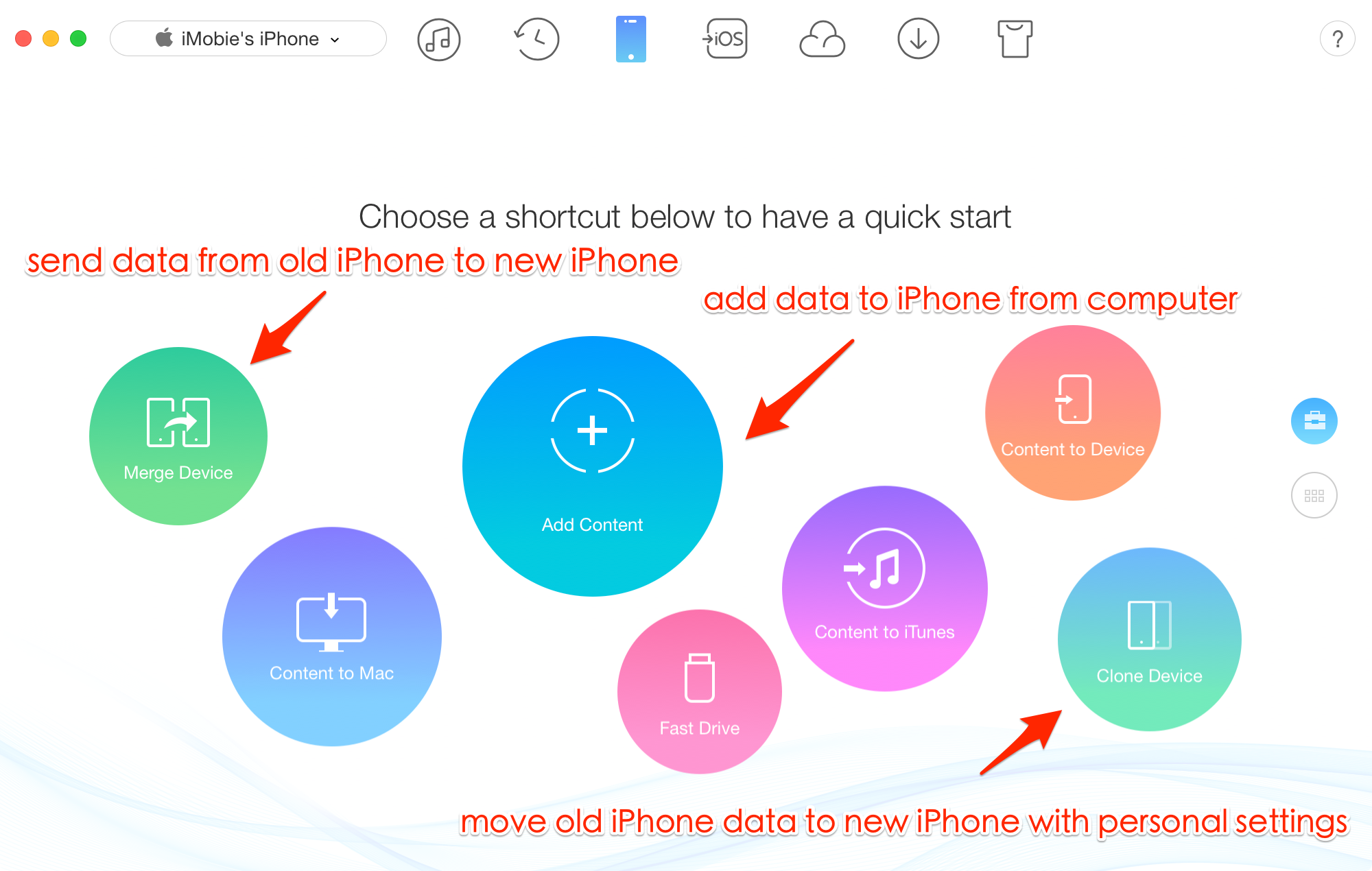 Transfer Data from Old iPhone to New iPhone after Activating and Setup