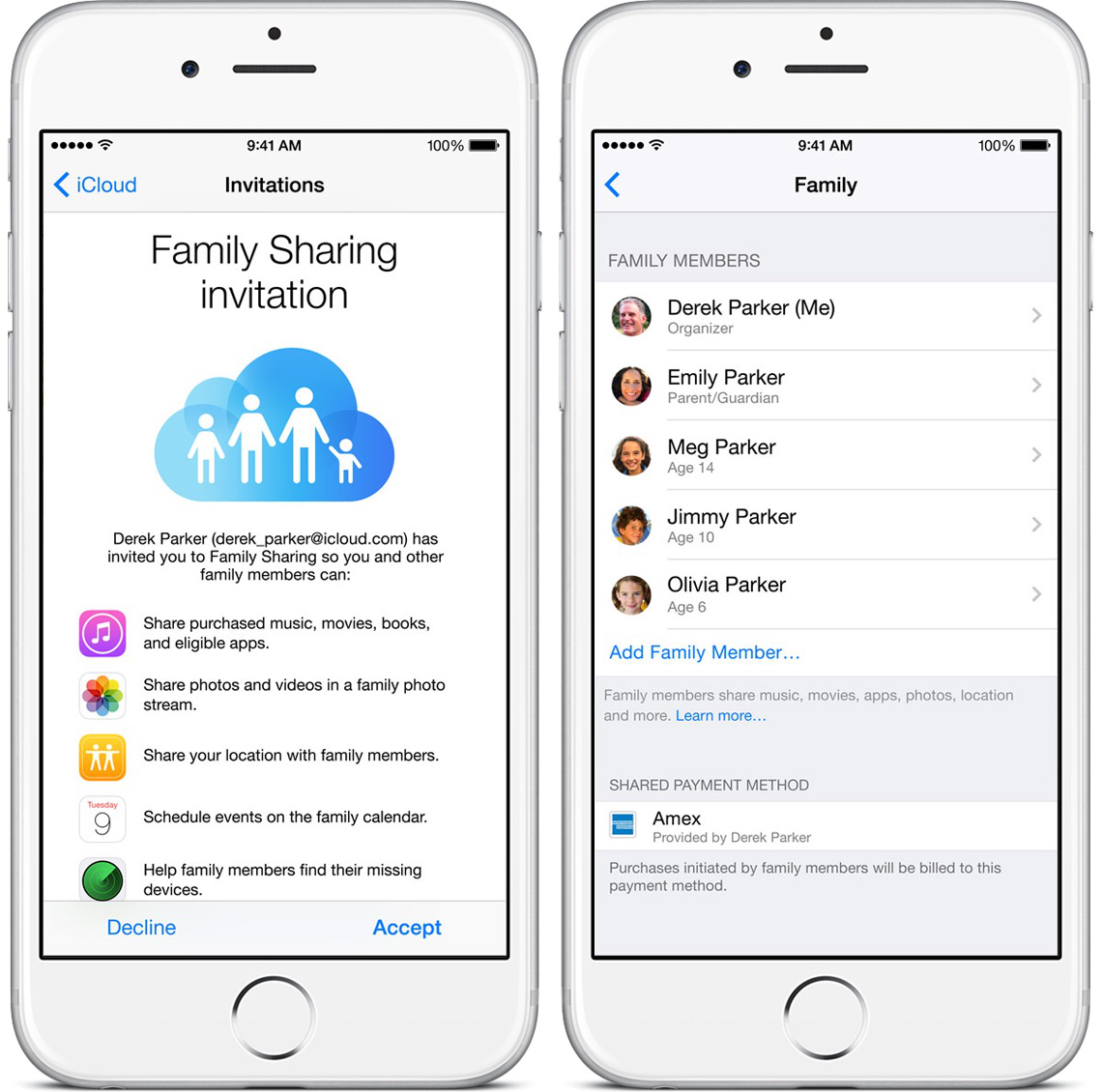 How to Set Up and Use Family Sharing in iOS 10 Devices