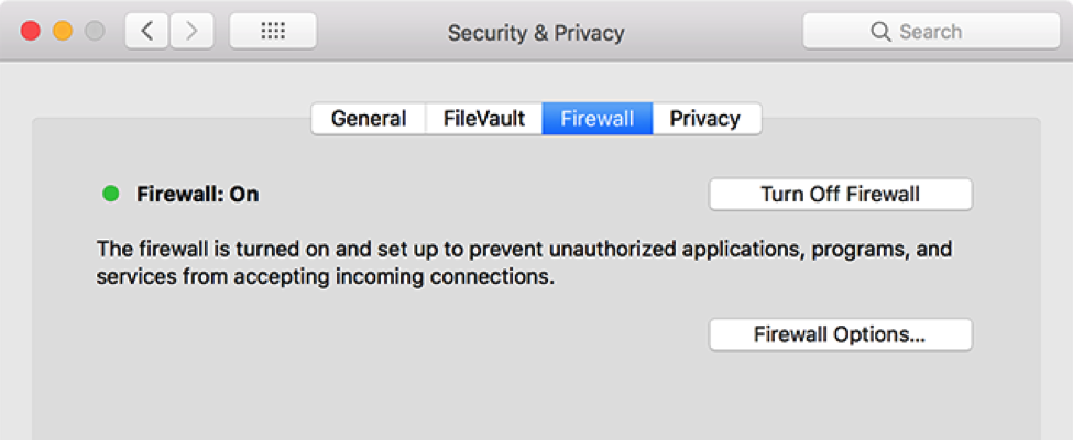 Share iTunes Library - Disable firewall