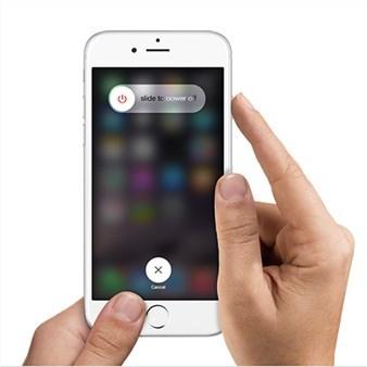 Soft Reset an iPhone
