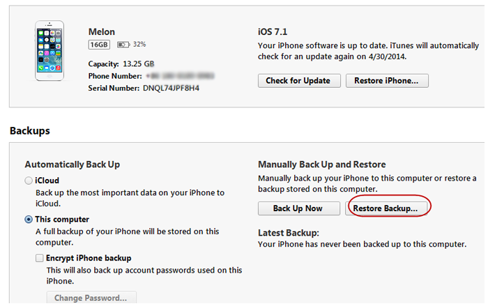 iphone not backing up how to solve ios 7 backup won t restore imobie guide 1589