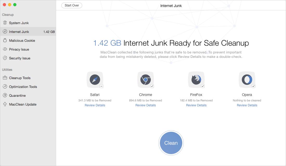 Speed Up macOS Sierra with MacClean – Step 3