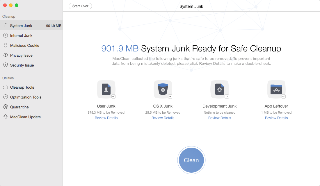 Remove All Junks from Your Mac to Speed up Mac