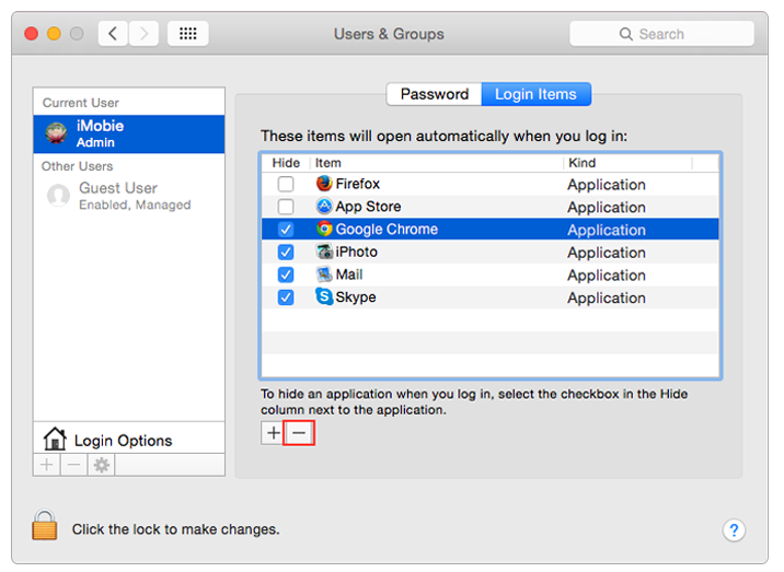 Optimize Mac by Clearing out the Startup Items