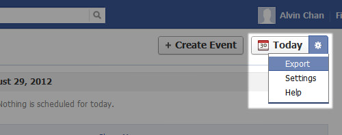 How to Sync Facebook Events to iPhone Calendar on Windows - Step 2
