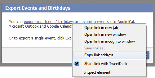 How to Sync Facebook Events to iPhone Calendar on Windows - Step 3