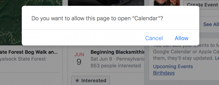 How to Sync Facebook Events to iPhone Calendar on Mac - Step 4