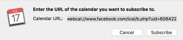 How to Sync Facebook Events to iPhone Calendar on Mac - Step 5