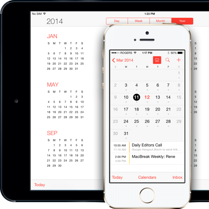 Sync Calendar Between iPhone and iPad